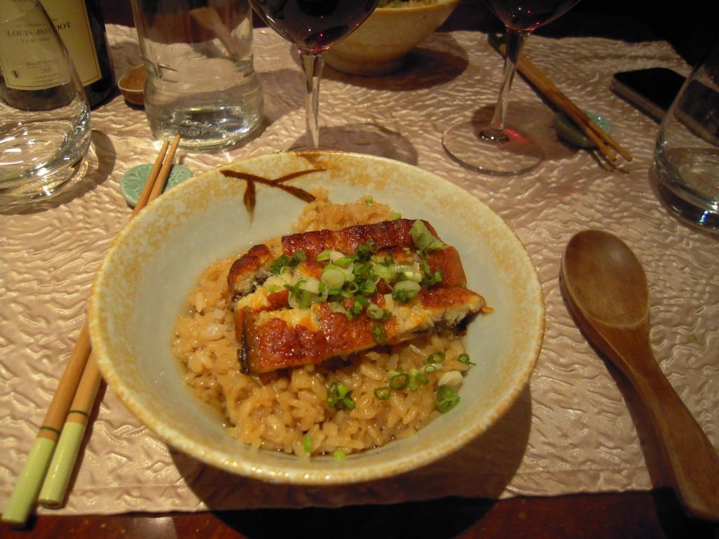 Shiki Anguille grillée