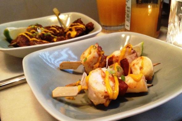 Fish Club Chorizo poulpe
