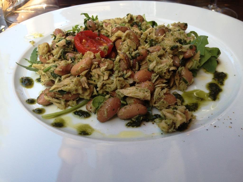 les vitelloni salade haricots