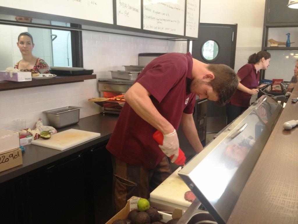 Freddies deli preparation sandwich