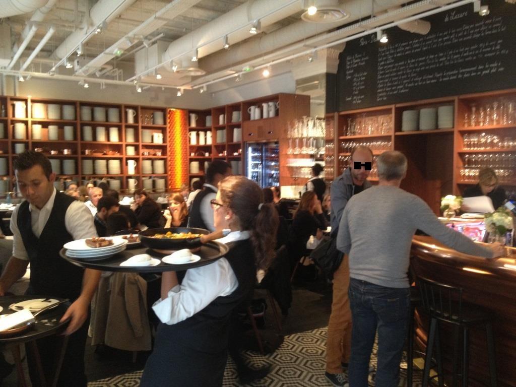 Lazare restaurant Eric Frechon Salle
