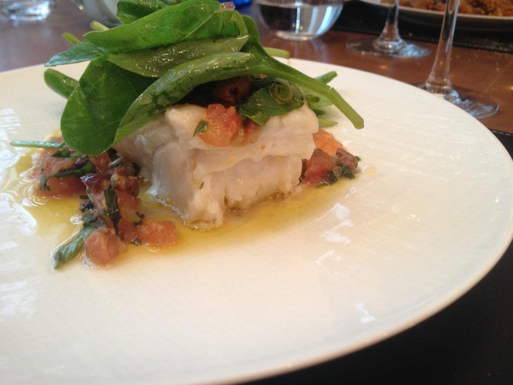 Lazare restaurant Eric Frechon cabillaud