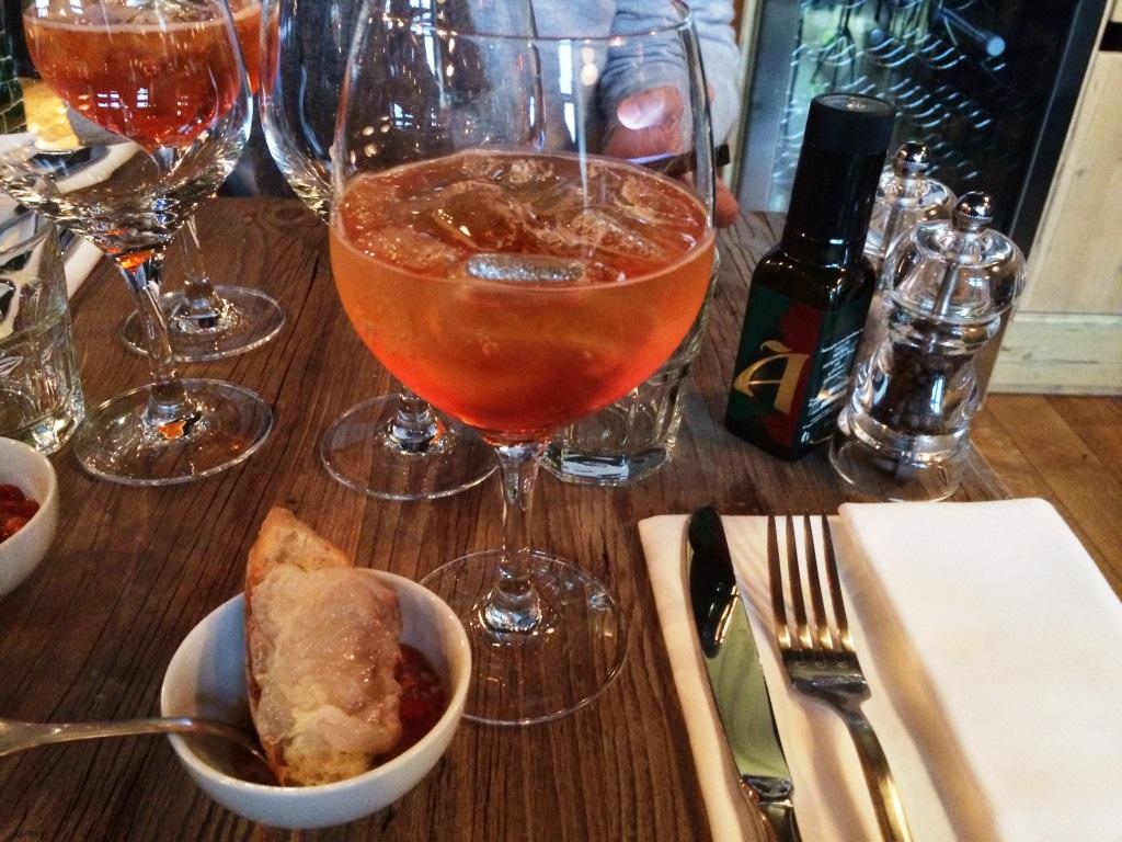 Baffo restaurant italien marais apero