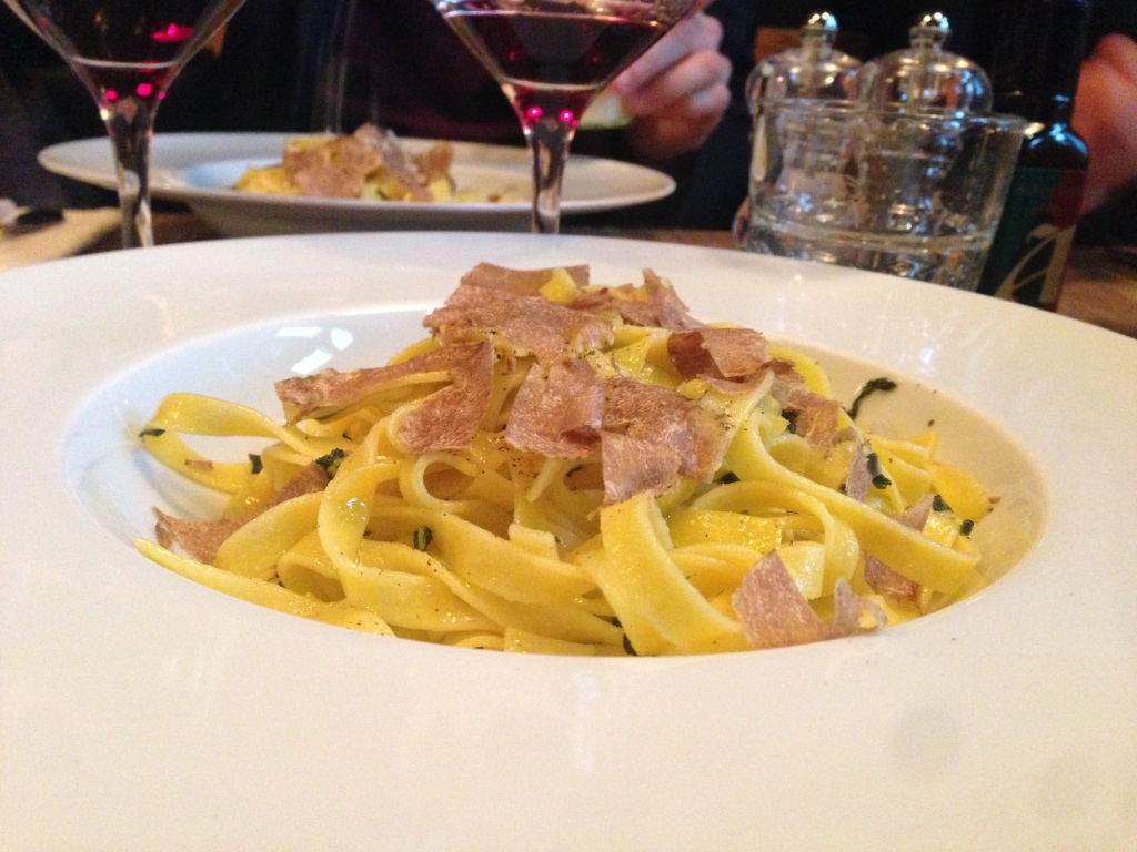 Baffo restaurant italien marais truffe blanche