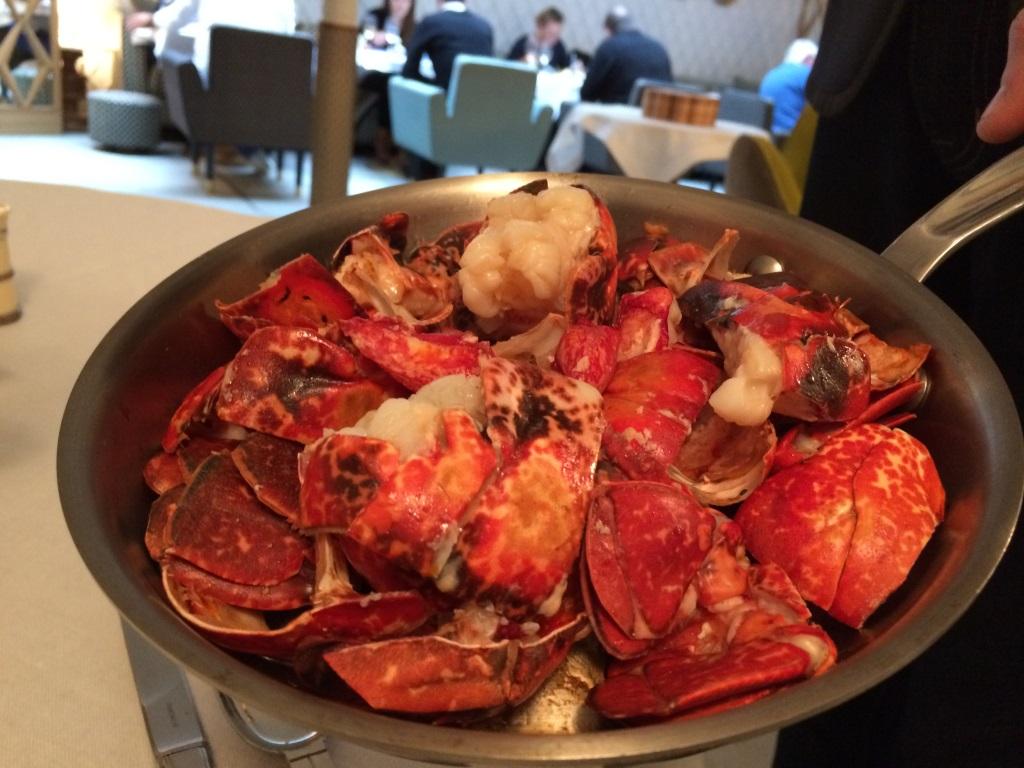 Jean fran ois pi ge paris 7e coup de fourchette blog - Comment cuisiner le homard cuit surgele ...