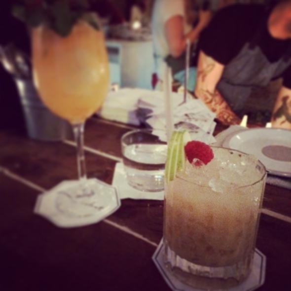 Cocktails au Mary Celeste