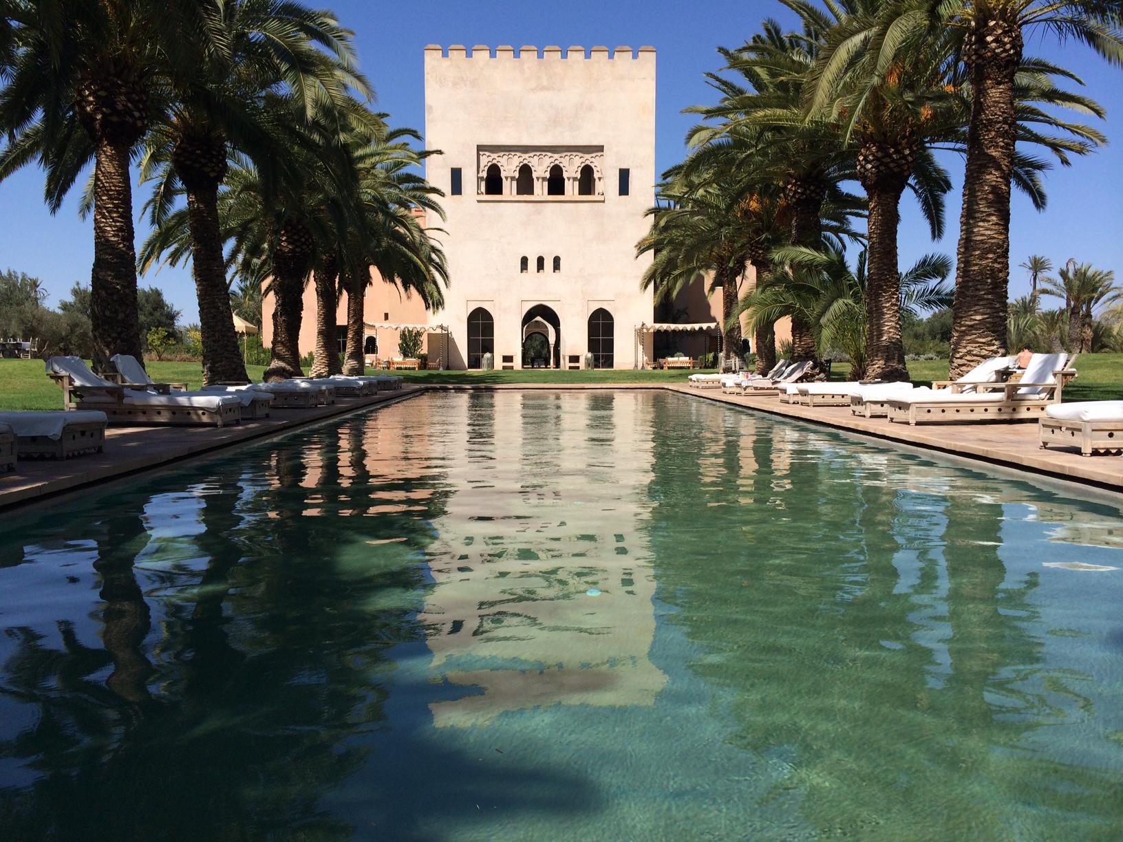 Ksar char bagh marrakech maroc hotel de luxe for Bab hotel marrakech piscine