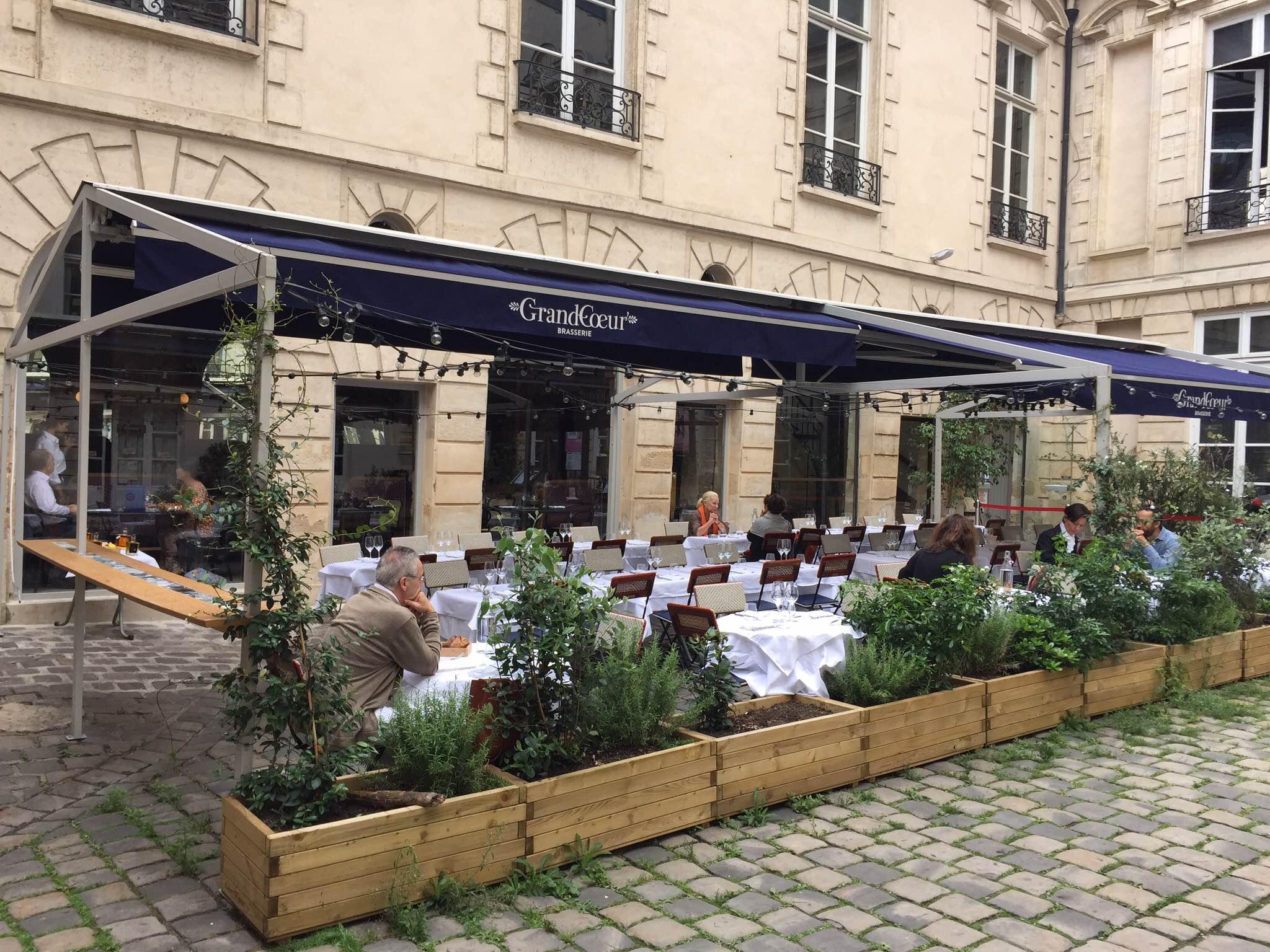 Le grand coeur paris 3e coup de fourchette blog guide des restaurants paris - Restaurant en terrasse paris ...