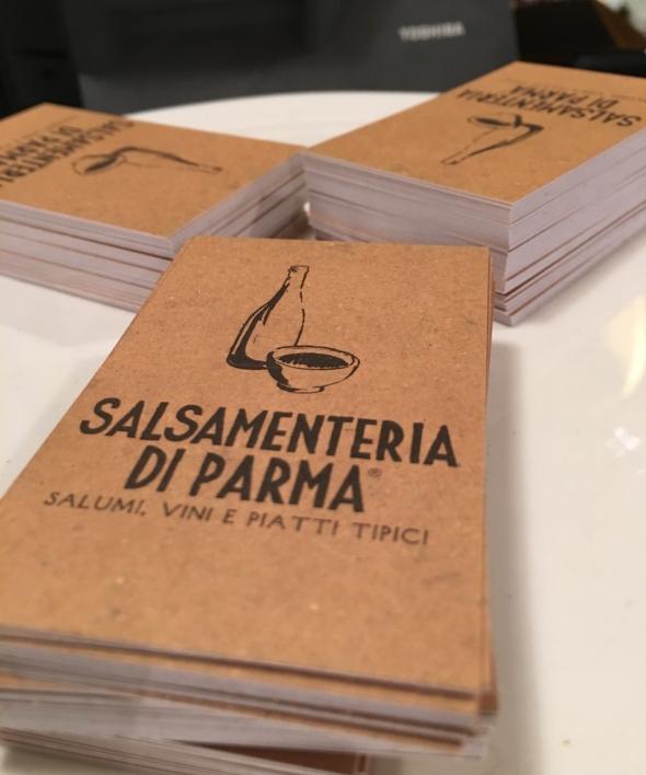 Salsamenteria di Parma carte2