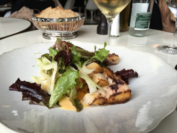 Lou Lou restaurant Paris poulpe