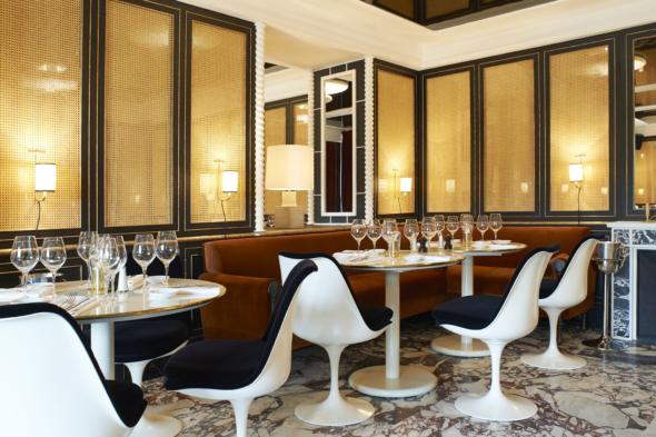 Lou Lou restaurant Paris salle bas