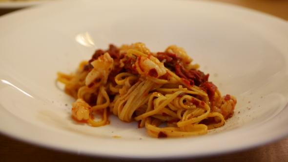 Passerini_restaurant_paris11_pates-crevettes